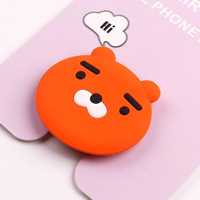 hot Global stereo silicone cartoon mobile phone cute new retractable ring bucklemodkily-modkily