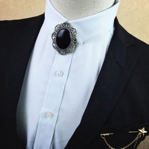 Free shipping New fashion Korean men's male man diamond metal tie groommodkily-modkily