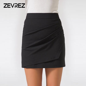 XS-5XL Plus Size Black Pencil Skirt Summer 2018 Bodycon High Waist Skirtsmodkily-modkily