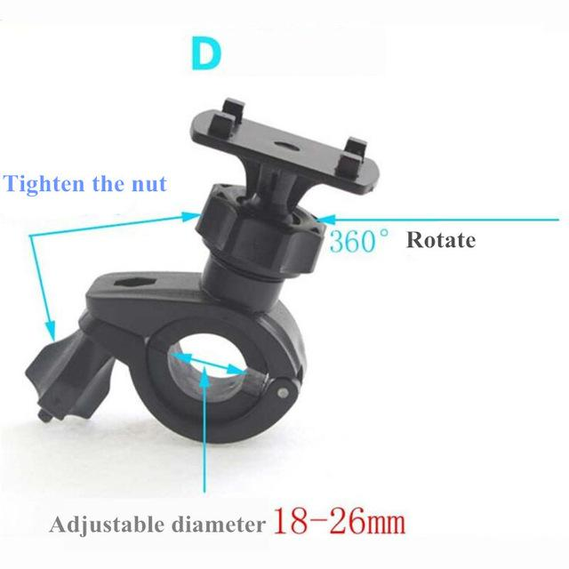 Universal Bicycle Bike Handlebar Clip Phone Stand Holder Stand Mount Bracketmodkily-modkily