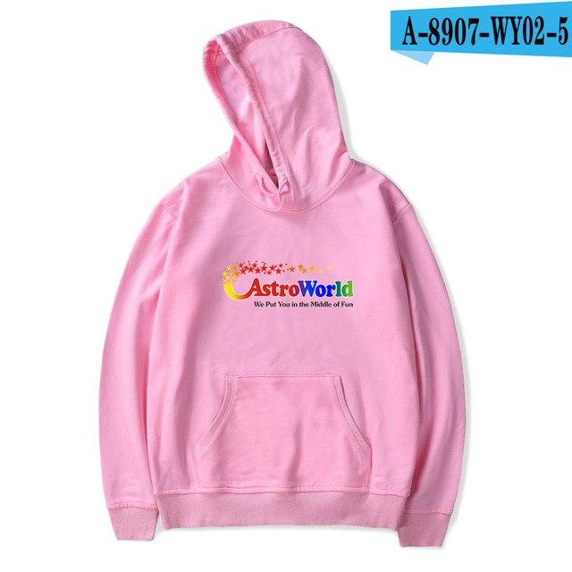 ASTROWORLD Hoodies Fashion Women Men Autumn Spring Pullovers Travis ASTROWORLD Kmodkily-modkily