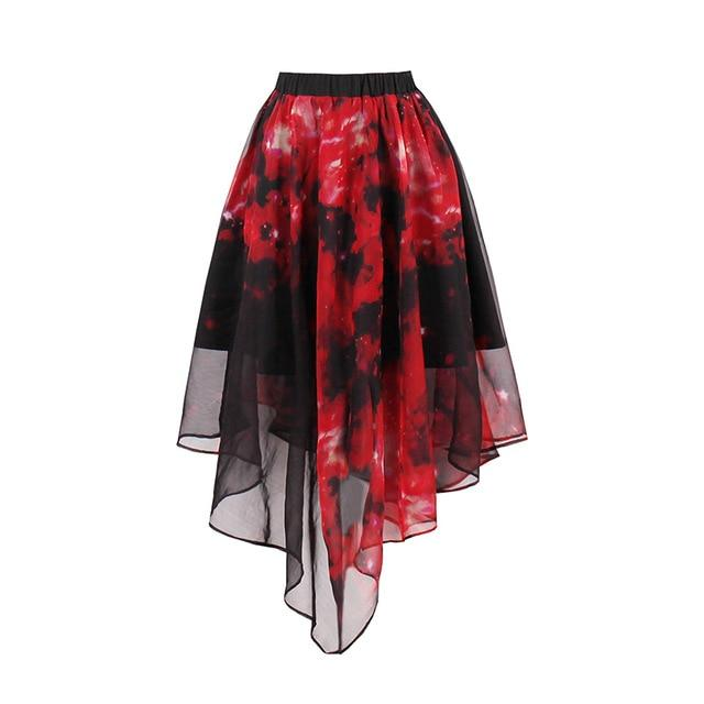 Women Gothic Skirts Harajuku Sexy Girls A-Line Party Short Skirt Female Pleatedmodkily-modkily
