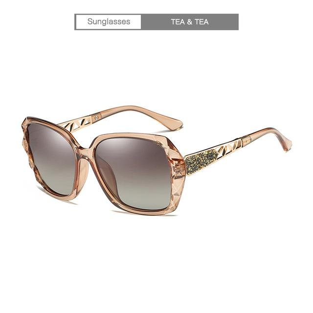 2018 New Women Sunglasses Ladies Polarized Vintage Sunglasses Brand Designer Luxury Oversizedmodkily-modkily