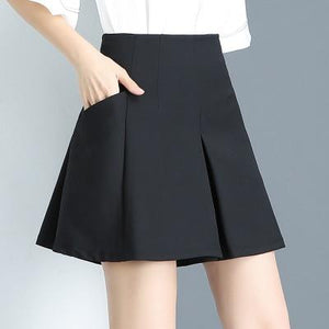 White Black Summer Women Loose Shorts 2018 New Fashion Slim High waistmodkily-modkily