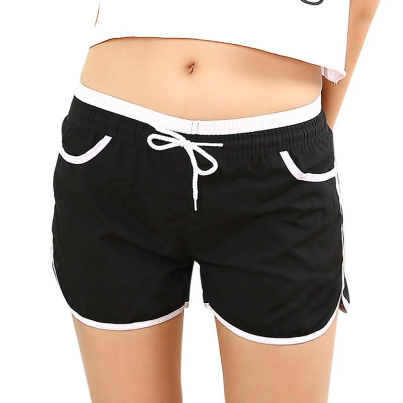 New Women Drawstring Quick Dry Casual Short Pants Ladies Loose Candy Colormodkily-modkily