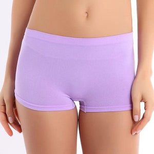 Solid Comfortable Summer Women Shorts Solid Workout Waistband Skinny Shortsmodkily-modkily