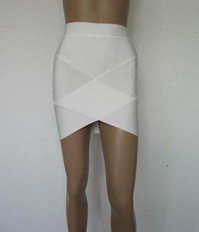 Free Delivery European and American fashion star Various colors cross bandage skirtsmodkily-modkily