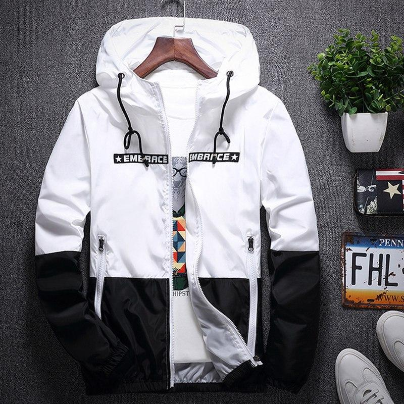 2018MenZipper hoodies black friday Letter printing streetwear of white Mens Brand Hoodiemodkily-modkily