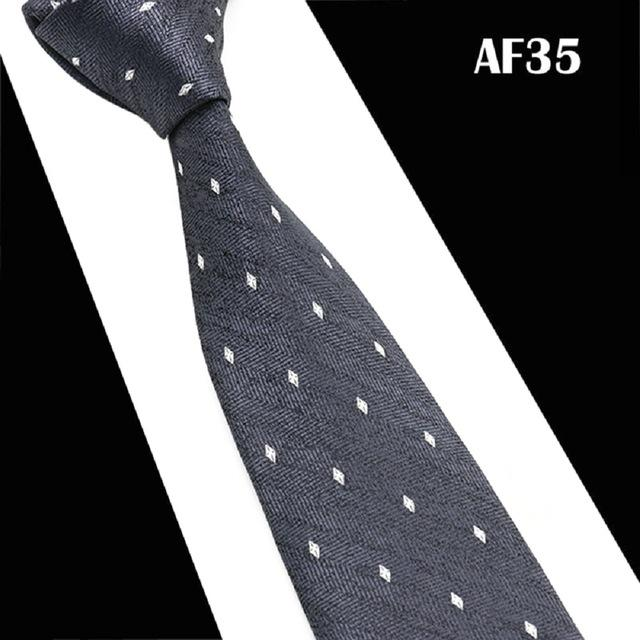 7cm Polyester Striped Dots Cashew flowers Business Tie Gravatas Corbatas Casualmodkily-modkily