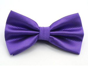 Hot Mens Polyester Bow Ties Adjustable Man Bowstie butterflies Solid Black Redmodkily-modkily