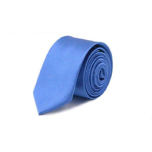 Solid Neck tie for men Gravata Slim ties narrow necktie 5cm widthmodkily-modkily