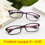 '-1 -1.5 -2 -2.5 To -6.0 Ultralight TR90 Finished Myopia Glasses Formodkily-modkily