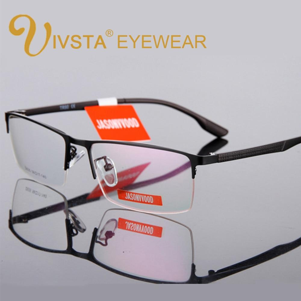 Half Rim Optical Glasses Men Glasses Myopia TR90 Reading Prescription Computermodkily-modkily