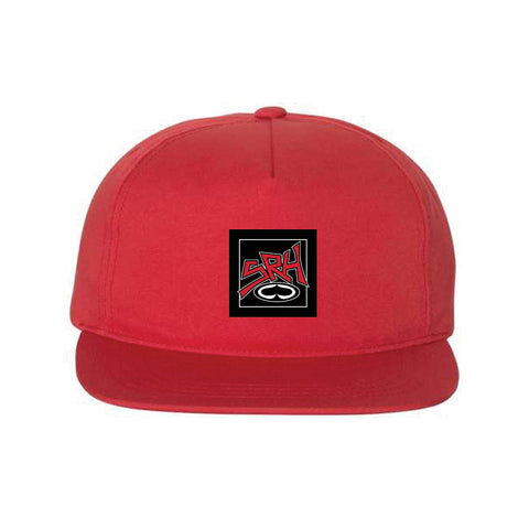 SRH Punk Patch Red Unstructured Snapback