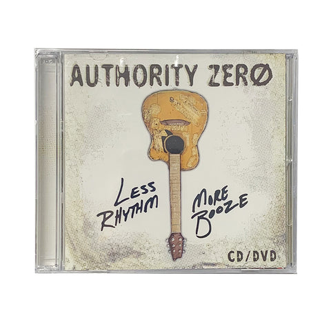 Authority Zero - Less Rythm More Booze CD/DVD