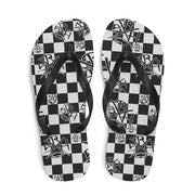 SRH Checkered Placa Sandals