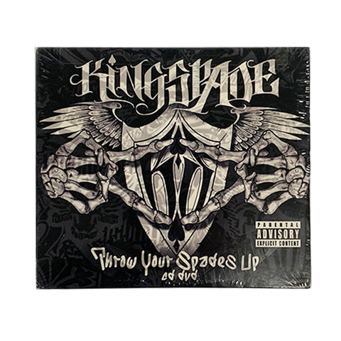 Kingspade - Throw Your Spades Up CD\DVD