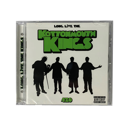 Long Live The Kottonmouth Kings CD - White