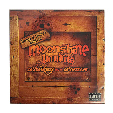 Moonshine Bandits - Whiskey And Women Vinyl (Orange / Black Splatter - Ltd. to 100)