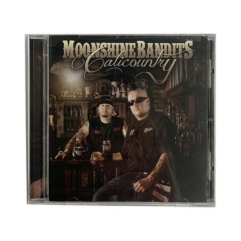 Moonshine Bandits - Calicountry CD