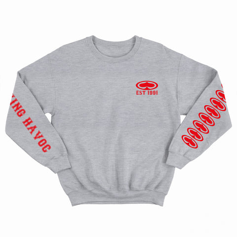 Reeking Havoc Grey Crew Neck