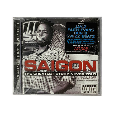 Saigon - The Greatest Story Never Told CD