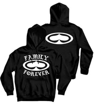 Load image into Gallery viewer, SRH Family Forever Hooded Sweatshirt (Black)
