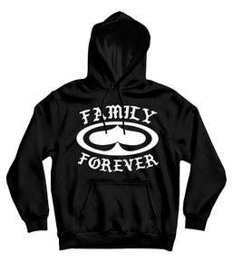 SRH Family Forever Hooded Sweatshirt (Black)