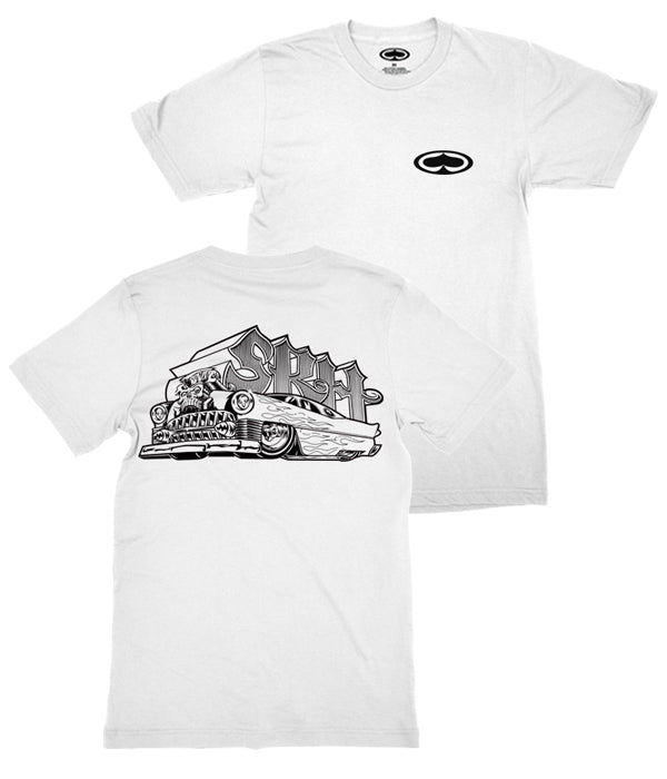 SRH Hot Rod Shirt (White)