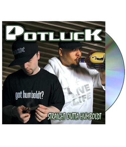 Potluck - Straight Outta Humboldt CD