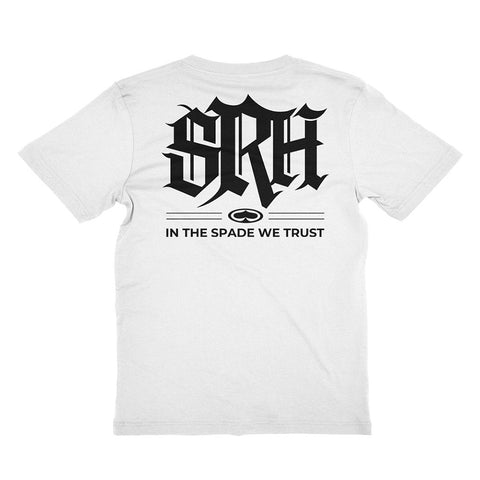 In The Spade We Trust - White