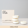 Vanilla Pear 4 pack - Inspired Candles