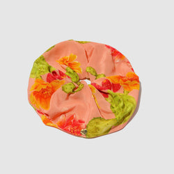ACCESSORIES - PINK OPUNTIA SILK HAIR TIE