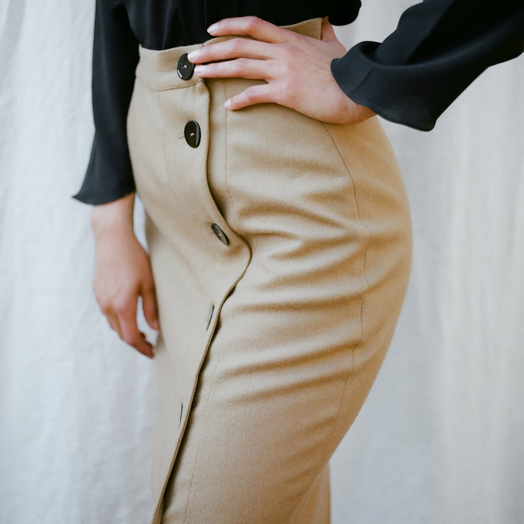 APPAREL - WOOL PATRONA SKIRT