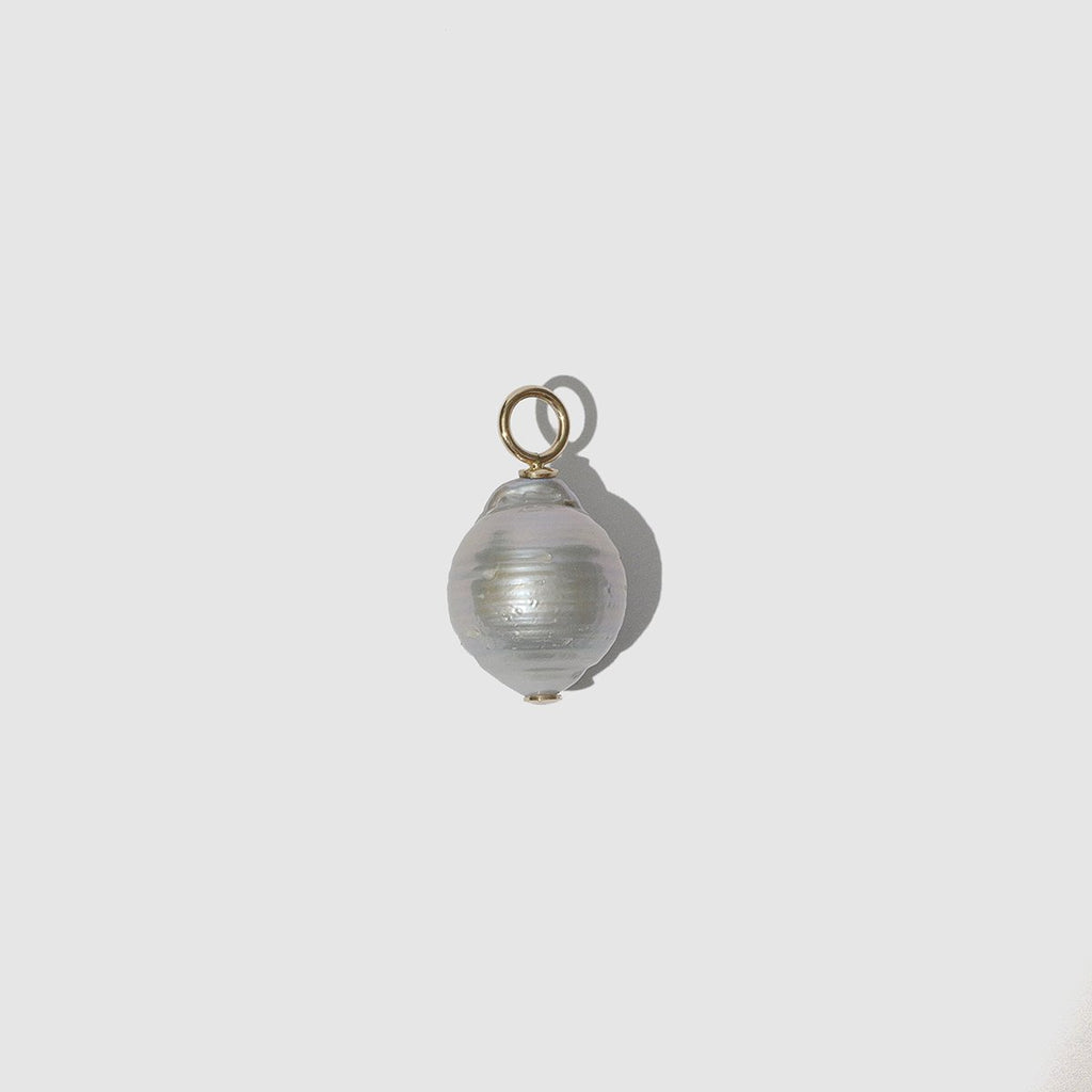 JEWELRY - GREY PEARL PENDANT