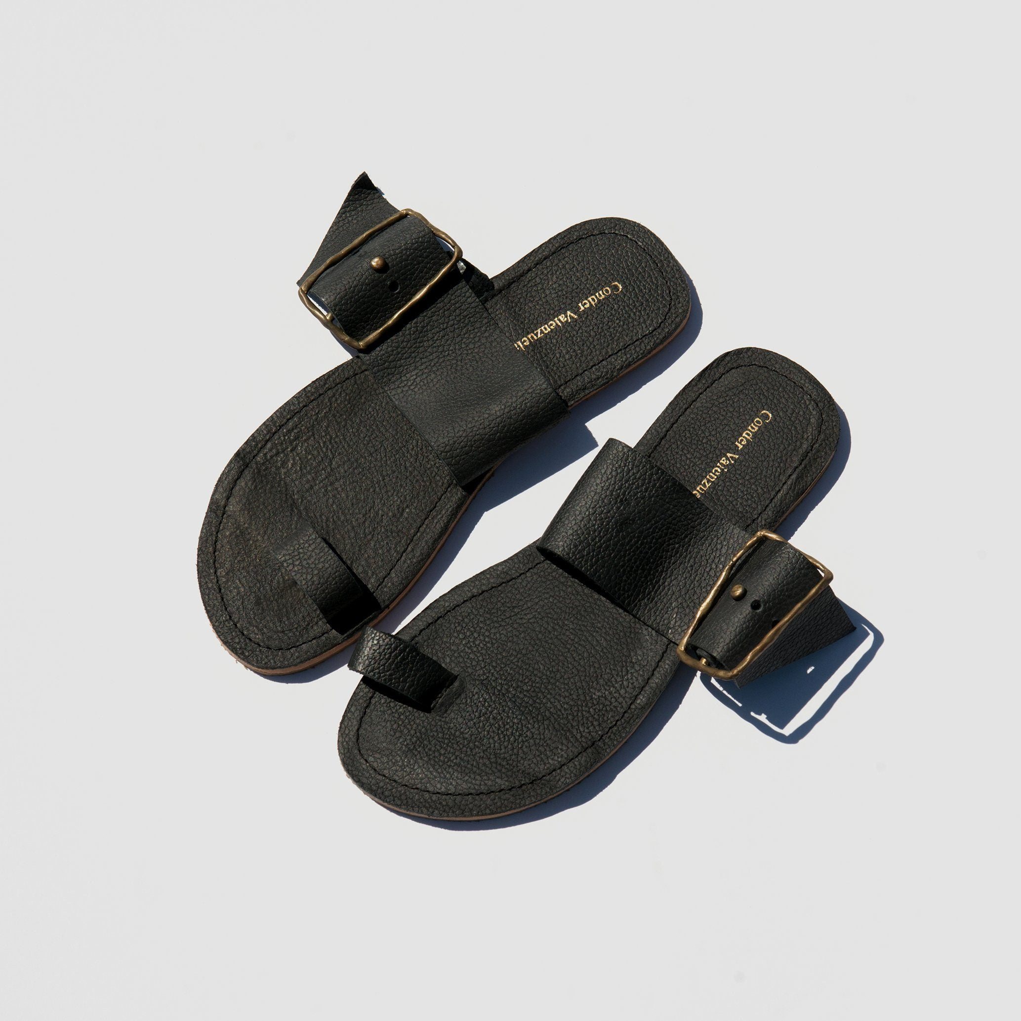 SHOES - BLACK CONDER VALENZUELA SANDALS