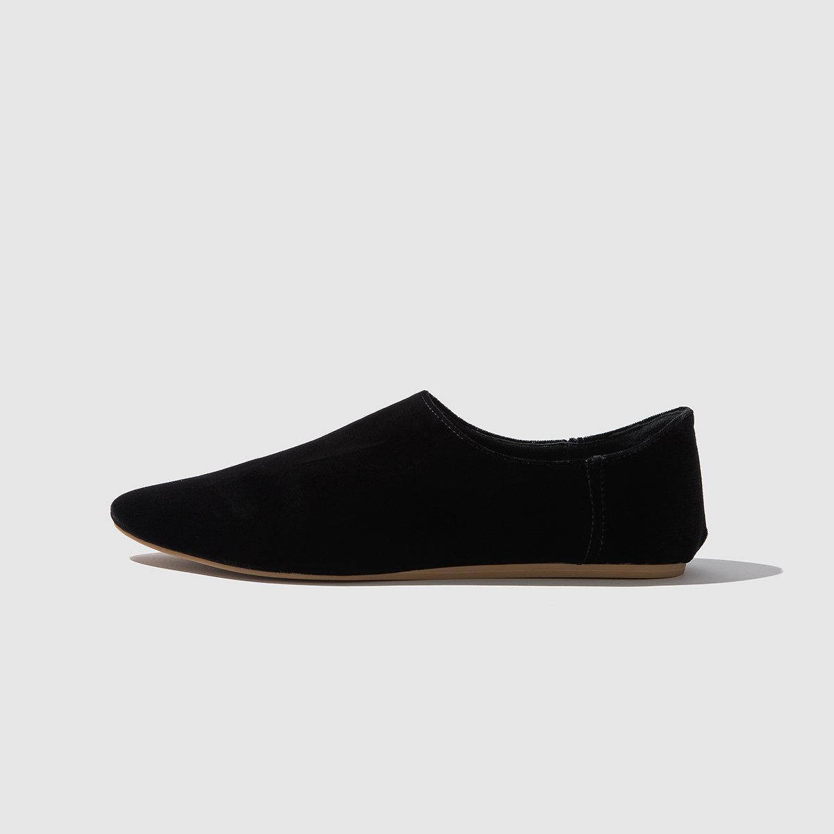 SHOES - MIDNIGHT VELVET BABOUCHE