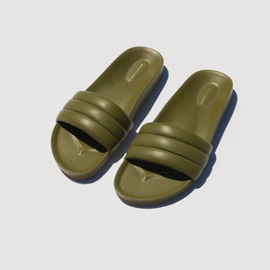 SHOES - OLIVE MONOCOLOR SANDALIA