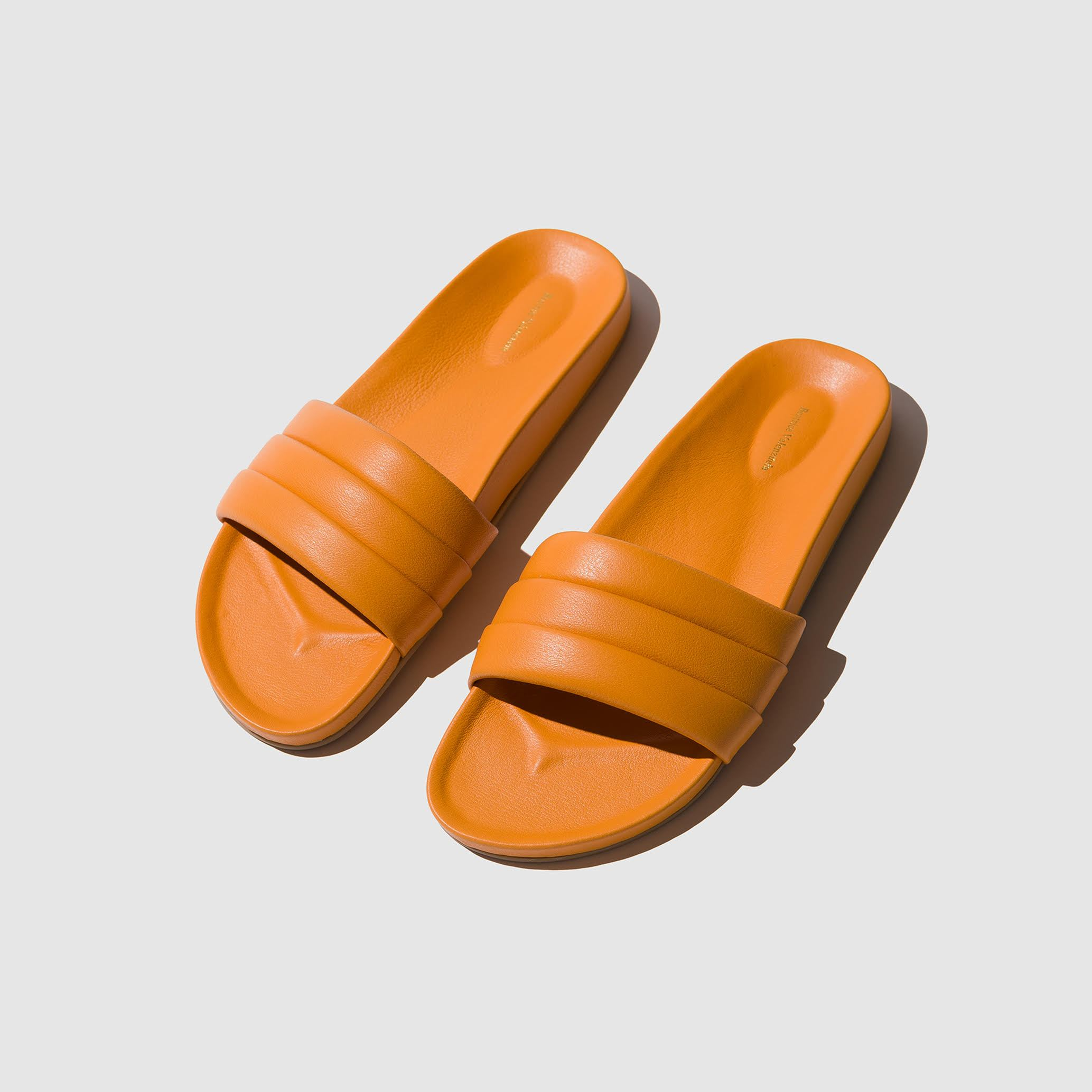 SHOES - TANGERINE MONOCOLOR SANDALIA