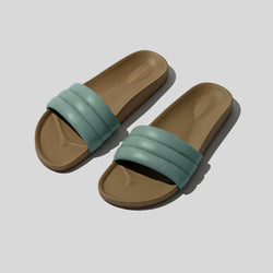 SHOES - WARMEST BLUE CLASSIC SANDALIA