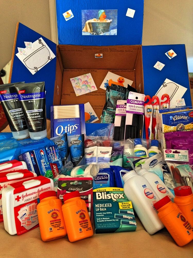 Hygiene Care Package (With a Letter/Note)
