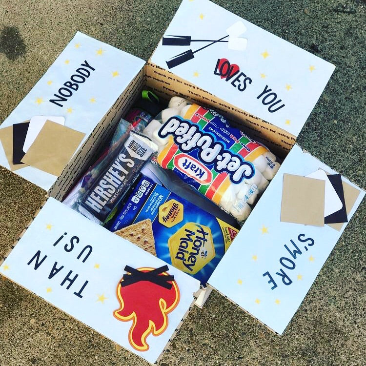 'Nobody Loves you S'more than me!' Package  (With a Letter/Note)