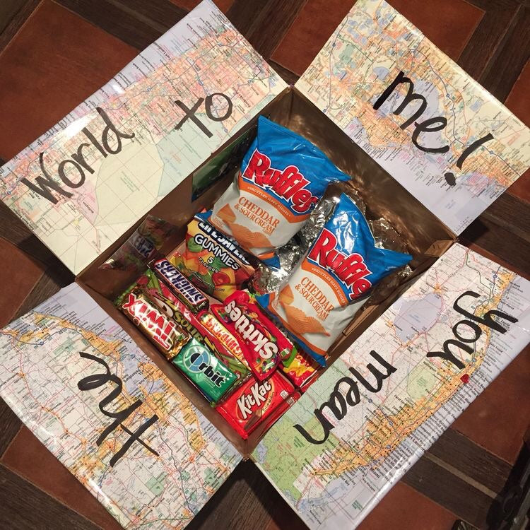 'You Mean The World To Me' Package (With a Letter/Note)