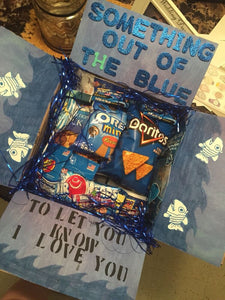 'Out of the Blue' Package (With a Letter/Note)