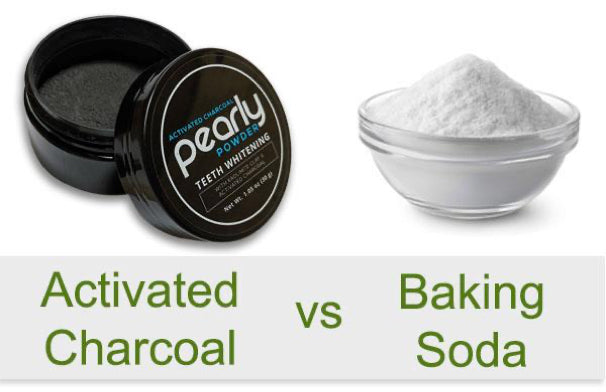 Charcoal and Baking Soda