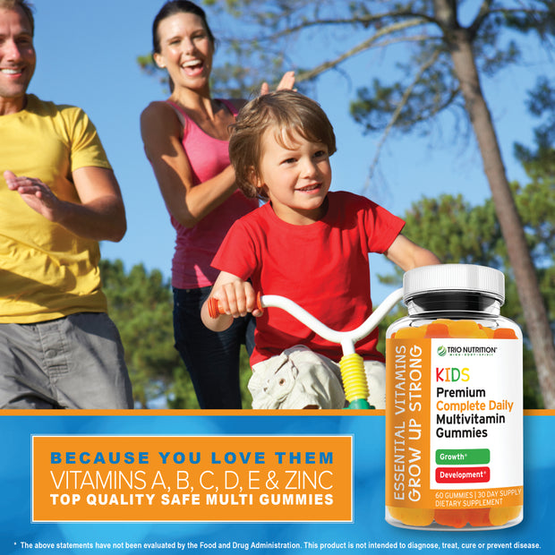Premium Kids Multivitamin with ZINC | Immune & Energy Support