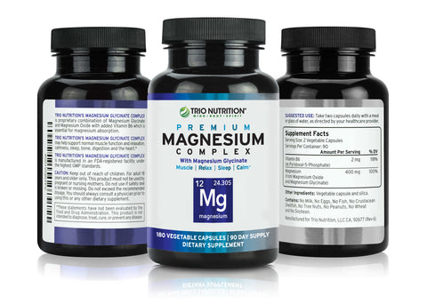 100% Daily Value Magnesium