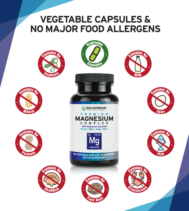 No Major Allergens Veggie Capsule