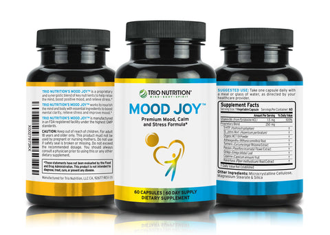 Researched 5 HTP serotonin supplement for balanced mood and positive outlook