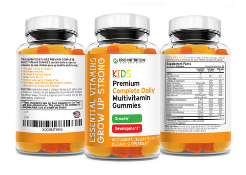 Premium Kids Vitamin C with ZINC | Immune & Energy Support